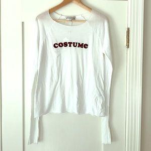 NWT Wildfox Costume Long Sleeve T-Shirt Small